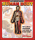 Uncover human body book