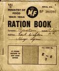 Wartime ration book